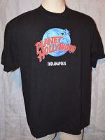 Planet Hollywood Indianapolis Indiana Black XL Short Sleeve Tee T-Shirt XL