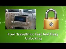 Ford Travelpilot S-Max FX NX C-Max SAT NAV Blaupunkt Radio Unlock Security Code