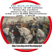 Book of History Pdf DVD 18 Volumes all Nations  8,000 illustrations