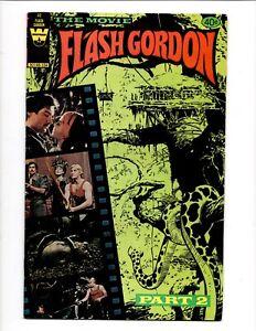 FLASH GORDON # 32 WHITMAN PUBLISHING 1980 MOVIE ADAPTATION SAM JONES PHOTO COVER