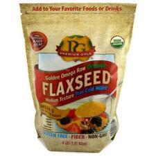 Premium Gold Organic Ground Flax Seed - 4lbs