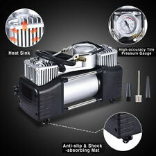 12V 150Psi Double Cylinder Air Pump Compressor Car Auto Tire Inflator Heavy Duty