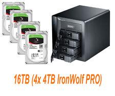 € 1275+IVA PROMISE Pegasus2 R4 4-Bay 16TB (4x 4TB IronWolf PRO) THUNDERBOLT 2