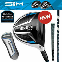 TaylorMade SIM MAX V-Steel Golf Fairway Woods - NEW! 2020 (Inc H/Cover)