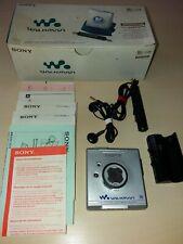 Sony Walkman Mini Disc MZ E501 OVP Zubehör Minidisk Player  Top Zustand RETRO