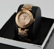 NEW AUTHENTIC VERSUS BY VERSACE LOGO ROSE GOLD MEDUSA WOMEN'S S77130017 WATCH