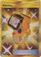 Pokemon SM Celestial Storm Card: Pokenav - 181/168 - Gold Secret Rare Trainer