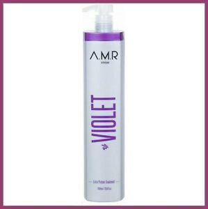 Lissage Brésilien AMR Violet Protéine Bio Sans Formol Soin Cheveux 100ml+notice