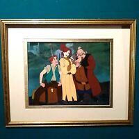 ANASTASIA, DIMITRI, VLADIMIR 20TH CENTURY FOX NUMBERED LTD. ED. SERICEL, FRAMED