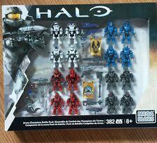Mega Bloks Halo DPW95 Arena Champions Battle Pack 16 Figures & Weapons NEW!