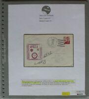 s1183) Raumfahrt Apollo 16 USS Ticonderoga Autograph Duke + Mattingly - Bolaffi