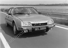 1984 CITROËN CX 25 GTI TURBO  PRESS FACTORY PICTURE WERKFOTO BILD ORIGINAL
