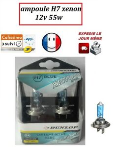 kit 2 ampoule H7 halogène xenon 12v 55w car light +50%