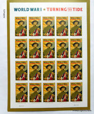 USPS World War I: Turning the Tide Pane of 20 NEW