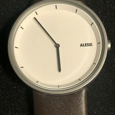 NEW Men's Watch ALESSI ANDREA BRANZI AL13001Y SOLID STAINLESS STEEL WRISTWARCHES