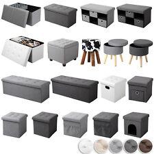 Sitzhocker Sitzbank mit Stauraum Fu�Ÿhocker Aufbewahrungsbox Sitztruhe Stuhl e228