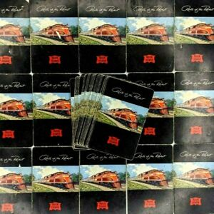 Rock Island RR Lines Route of the Rocket x52 Playing Cards Deck Railroad Vtg E3