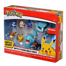 8Pcs/set Pokemon Pikachu Character Toys Battle Figure Multipack Doll Kid's Gift