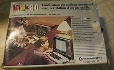 RARE FRENCH Canadian Commodore VIC 20 Computer - WORKING w/box