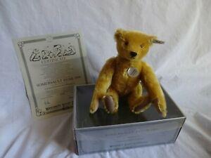 STEIFF BOXED Replica 1909 Mechanical Somersault Bear Ltd Edition
