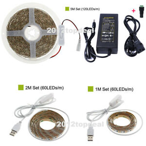 1M-5M Insect-Repelling LED Strip 2835 Camping Lamp for Hiking USB Repellent LED