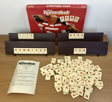 Vintage Word Rummikub Complete Spears Games 1990 Tile