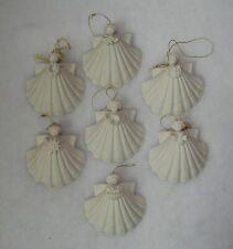Margaret Furlong Seven Sea Shell Ornaments 1985, 1987, 1991, 1994, 1996-97, 2000