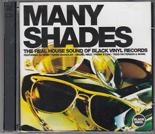 Many Shades : The Real House Sound Of Black Vinyl Records Vol.1 2CD FASTPOST