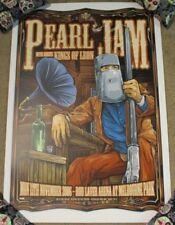 PEARL JAM concert gig poster print MELBOURNE 11-13-06 2006 ken taylor