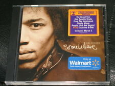 JIMI HENDRIX - Somewhere - 2 Track WALMART NUMBERED CD! RARE! NEW! w/ Foxey Lady