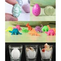 6Pcs Magic Dino Egg Growing Hatching Dinosaur Add Water Inflatable Child Kid Toy