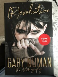 Gary Numan Revolution The Autobiography Signed Copy