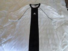 ADIDAS #13 MEN'S WHITE & BLACK BASEBALL JERSEY SHIRT XL-CREATIVE OFFICE PRODUCTS