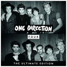 One Direction ~ Four Ultimate Edition NEW SEALED CD  WITH EXCLUSIVE BONUS TRACKS