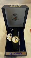 NEW DISNEY LORUS Womens MICKEY MOUSE WATCH Never used R EB025