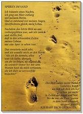 "Schlüsselanhänger ""Spuren im Sand"" (*NEU*)"