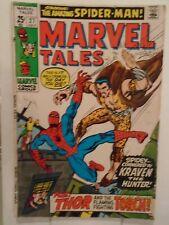 MARVEL TALES #27 (1970) Spider-Man, Thor, Kraven, Marie Severin, Steve Ditko