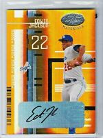 2005 Leaf Certified Materials EDWIN JACKSON RC Mirror GOLD Auto Rare SP #d 25/25