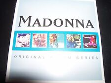 Madonna 5 X CD Album Series True Blue/Music/Like A Virgin/Ray Of Light/Confessio