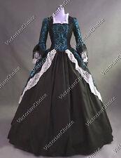 Colonial Renaissance Winter Wonderland Holiday Dress Reenactment Clothing 164 S