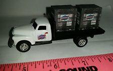 1/64 CUSTOM Chevy old logo pioneer hybrids TRUCK & 2 pallets seed ERTL farm toy