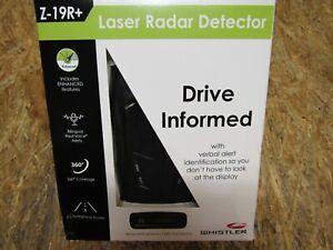 NEW - Whistler Z-19R+ Z-19R Plus High Performance Radar Laser Detector (LOTB290)
