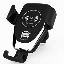 Qi Wireless Car Charging Charger Magnetic Air Vent Mount for Samsung Galaxy S9