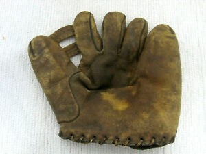 Rare Pee Wee Reese 1227 Genuine Cowhide Leather Split Finger Baseball Glove Mitt