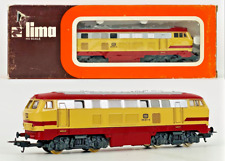 More details for lima ho scale - 1630l - class 218 db cream/red livery diesel locomotive - boxed