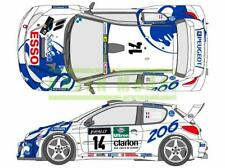 SHUNKO SHK-D346 1/24 Works Team 206 1999 Corse Decal Tamiya Hasegawa Peugeot