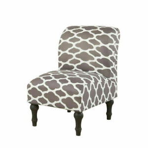 Spandex Slipper Chair Cover Stretch Print Armless Seat Case Home Room Decoration