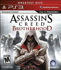 PlayStation 3 : Assassins Creed: Brotherhood VideoGames