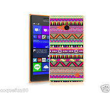 Coque Lumia 735 + Protection Verre Trempé 9 H - Motif Azteque