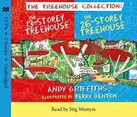 The 13 Storey  26 Storey Treehouse CD set